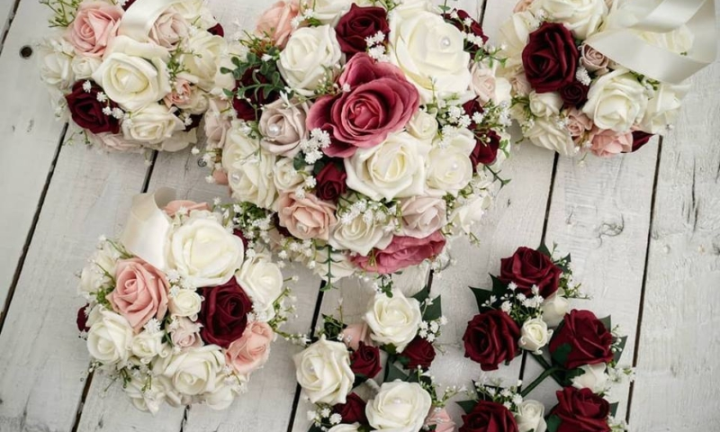 Artificial Wedding Flowers And Bridal Bouquets