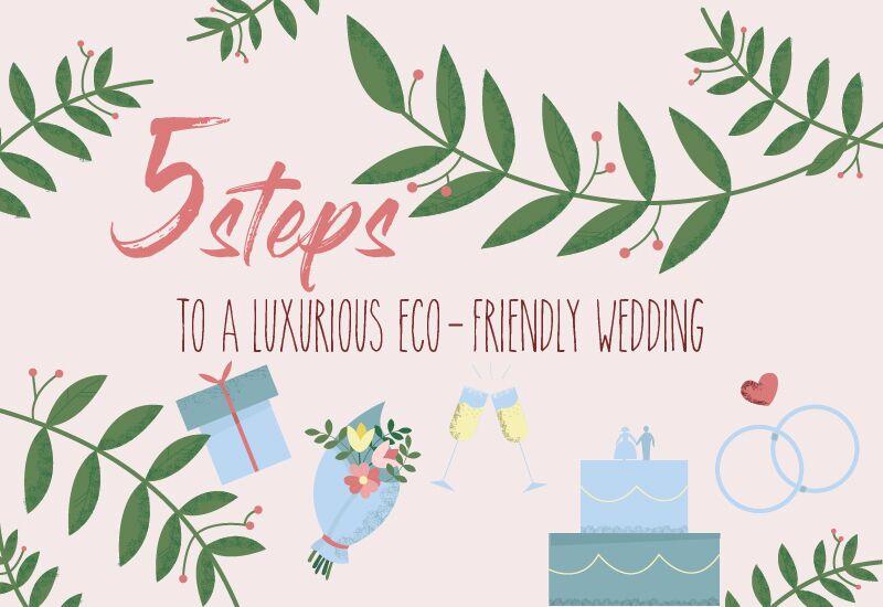 5 steps to a greener wedding