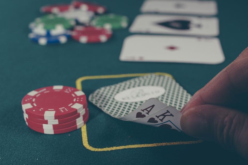 Poker wedding