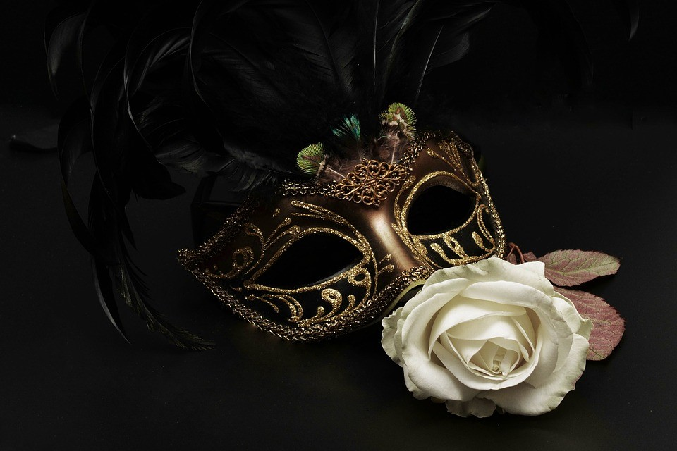 Masquerade Mask wedding